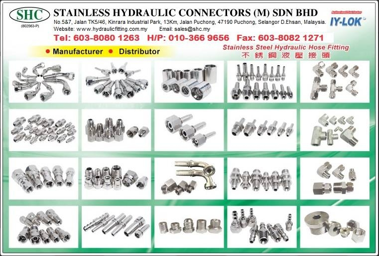 STAINLESS HYDRAULIC CONNECTORS (M) SDN BHD