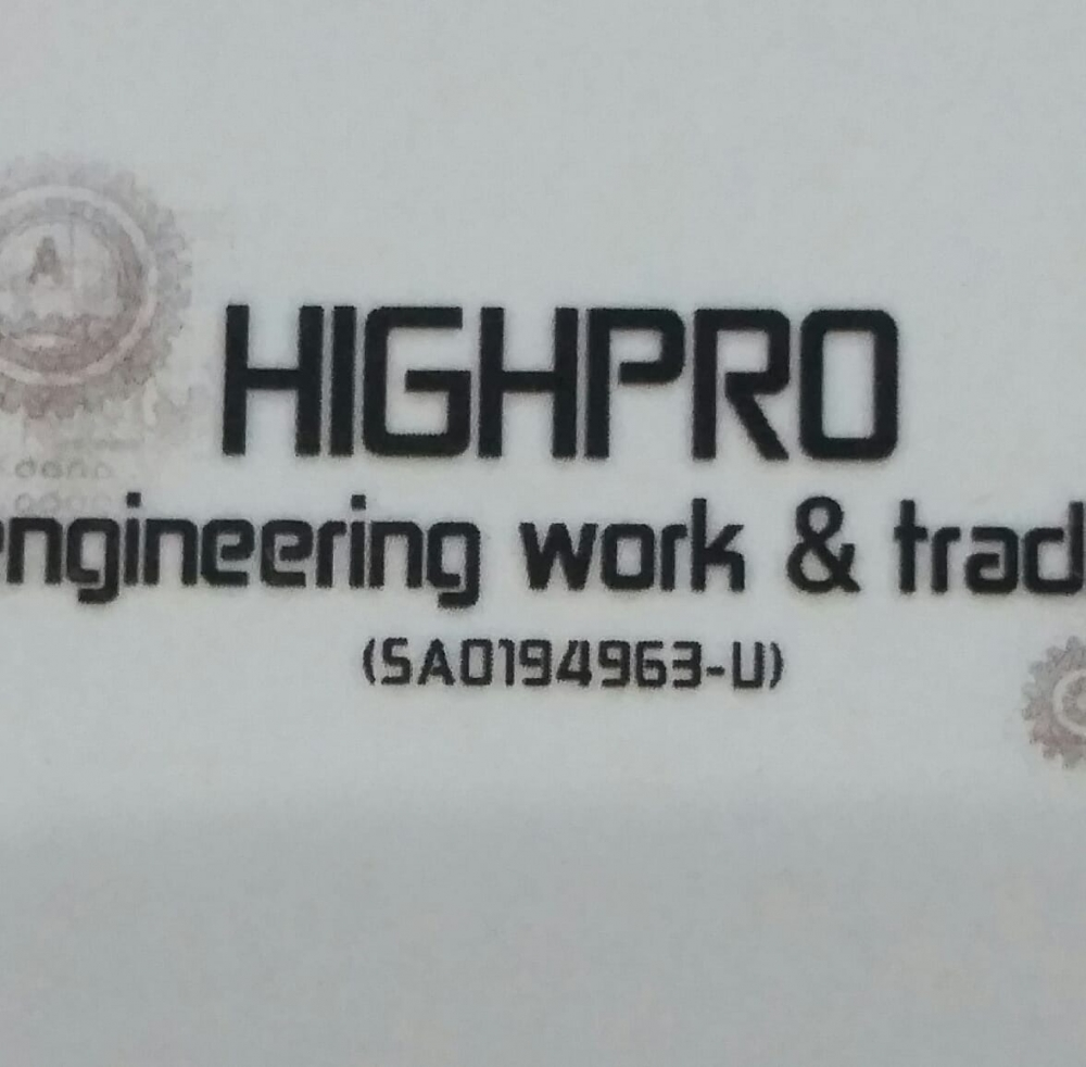 HIGH PRO ENGINEERING WORK & TRADING